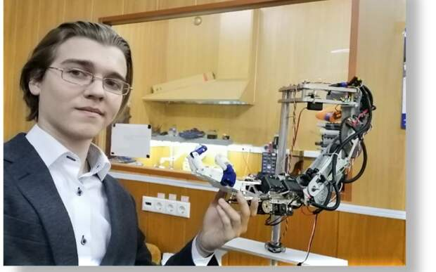 Студент МАИ создает инновационную систему управления протезами Фото: пресс-служба МАИ