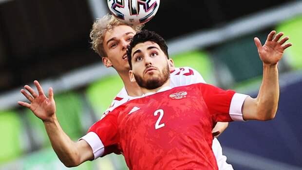 Молодежная сборная России разгромно проиграла Дании и вылетела с Евро-2021
