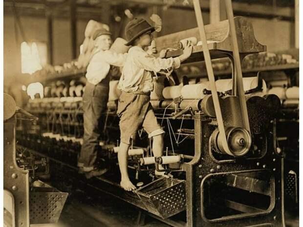 Детский труд век назад