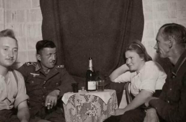 Для немецких солдат устраивались бордели.