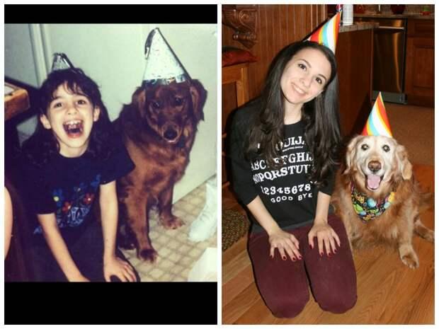 Эти фото с повзрослевшими щенками доказывают, что время летит слишком быстро