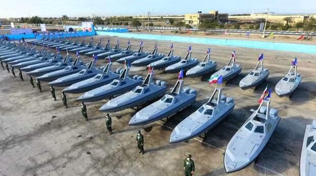 Пополнение иранского москитного флота