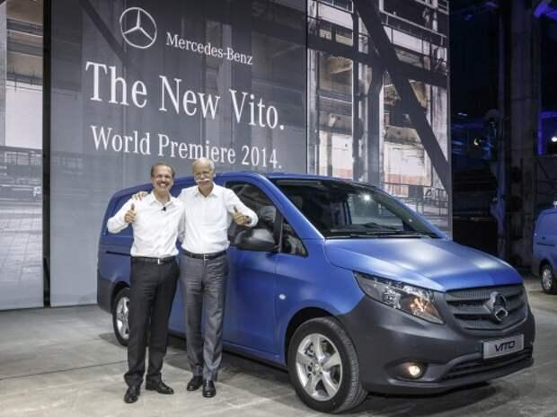 Новый Mercedes-Benz Vito вернулся с передним приводом