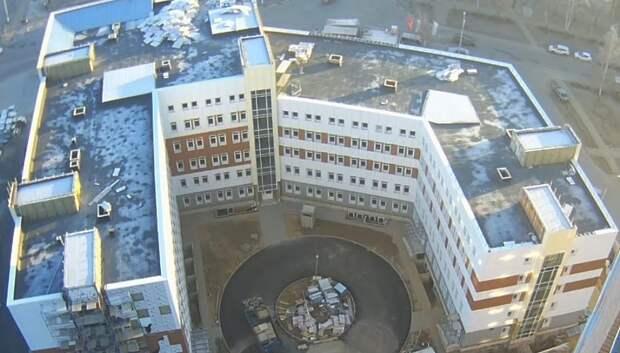 Строительство поликлиники в Подольске возобновят весной 2019 года