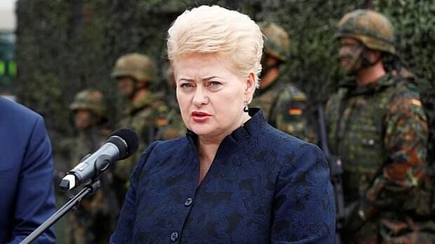 Паника Грибаускайте: «Искандеры» угрожают половине столиц Европы
