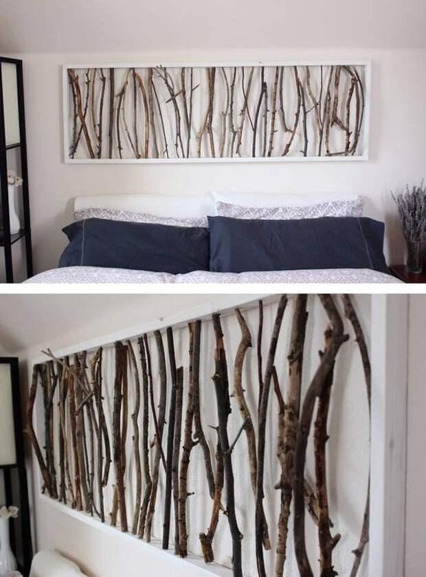 красивые ветки как сохранить дома