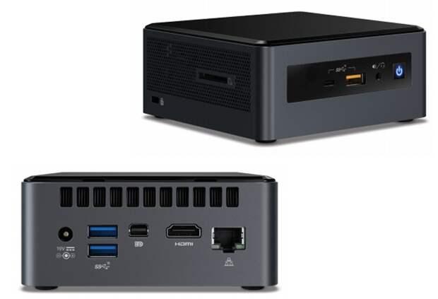 Мини-компьютеры Intel NUC Islay Canyon: чип Whiskey Lake и графика AMD Radeon