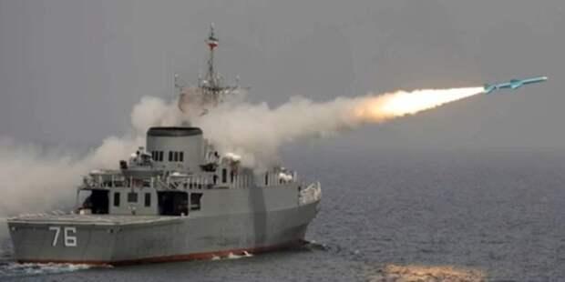 Иран ударил по своему кораблю?