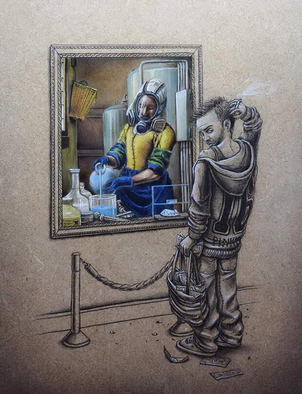 Иллюстрации с глубоким смыслом PEZ
