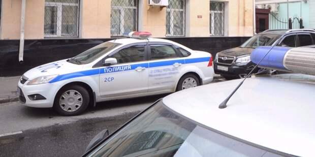 Мужчину на Патриарших задержали из-за невыполнения законных требований полиции/ Фото: mos.ru
