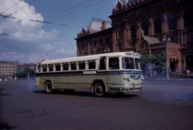 ЗИЛ-127 автобусы, транспорт, это интересно
