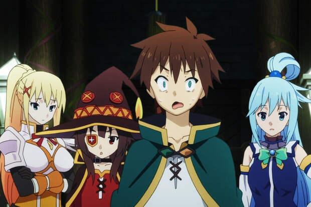 Японское аниме «Этот замечательный мир» запретили в России