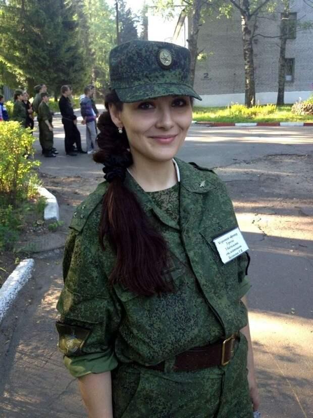 От тайги до британских морей ... : Лица девушек из Российской армии (53)