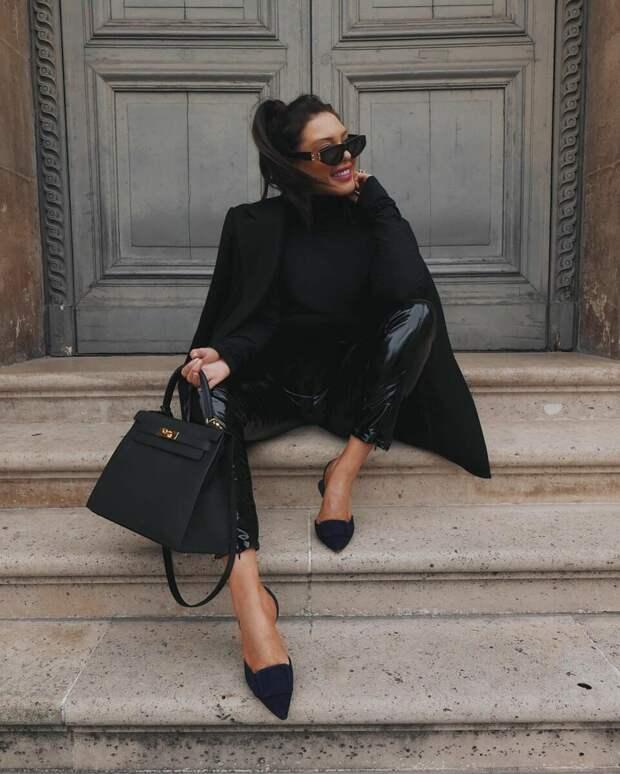 20+ примеров как носить черную водолазку, чтобы всегда быть на высоте