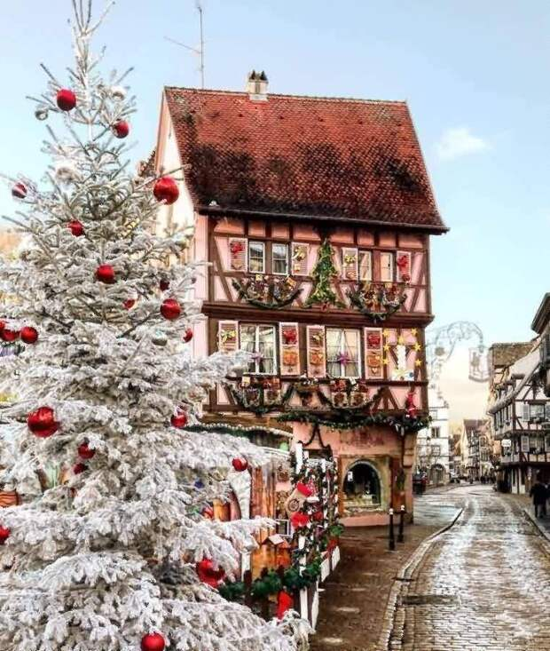 Самый красивый рождественский город