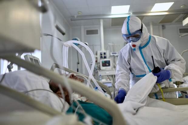 В России за сутки выявлено 9 284 новых случая коронавируса