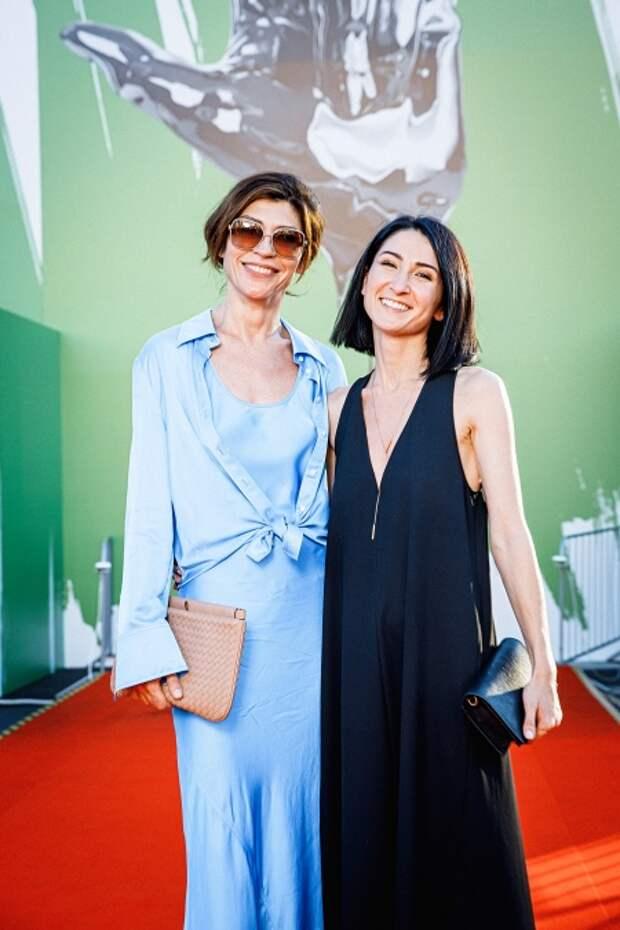 Светлана Камынина и Нигина Сайфуллаева