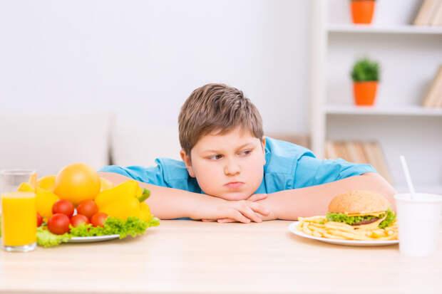 Вредные пищевые привычки, родом из детства