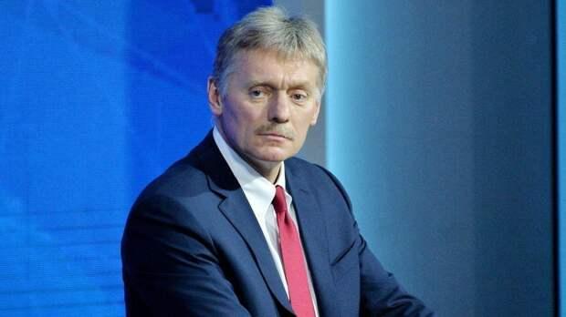 Песков заявил о незаконности санкционных устремлений США