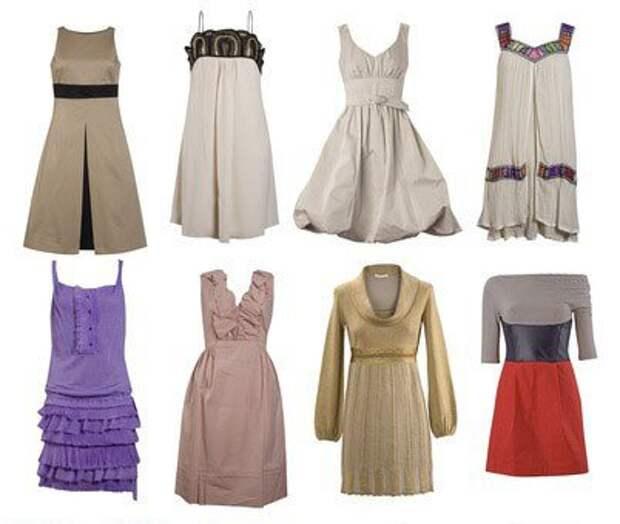 Тип фигуры «Яблоко»  Рекомендации по подбору одежды
