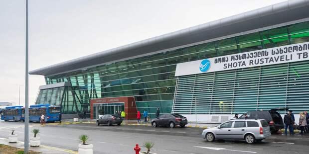 МИД назвал условие возобновления полетов в Грузию