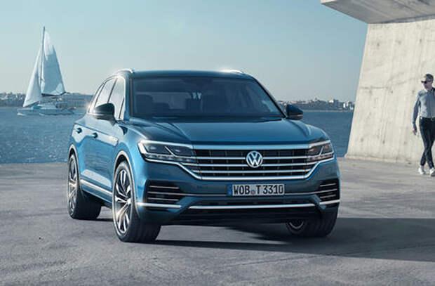 VW Touareg для России: двигатели и комплектации. Конечно, много опций