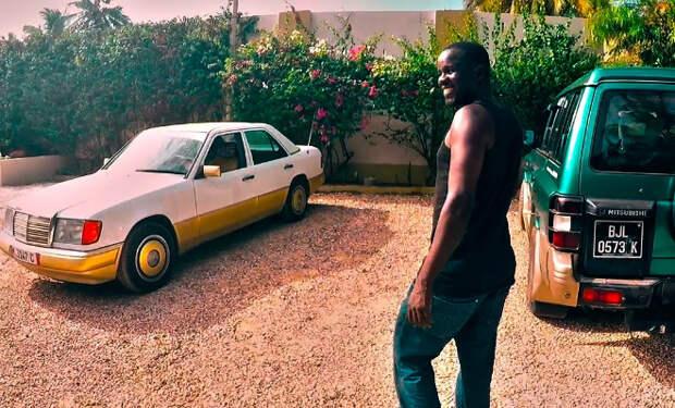 Брошенные автомобили в Африке