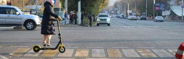 В МВД Казахстана заявили, что самокаты не являются участниками дорожного движения