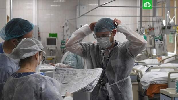 В России выявили 8 465 новых случаев коронавируса
