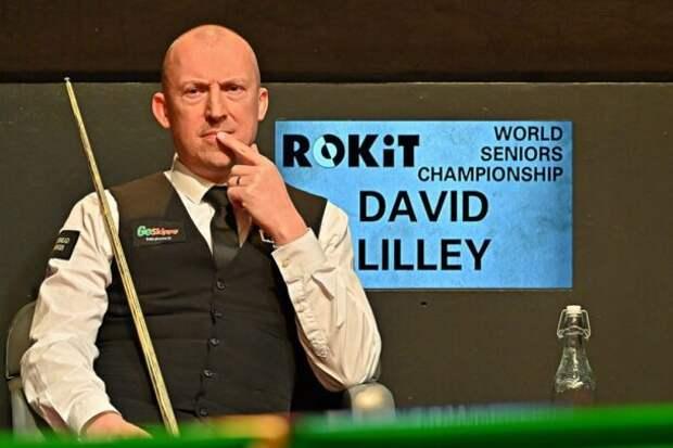 Дэвид Лилли (фото: World Snooker)