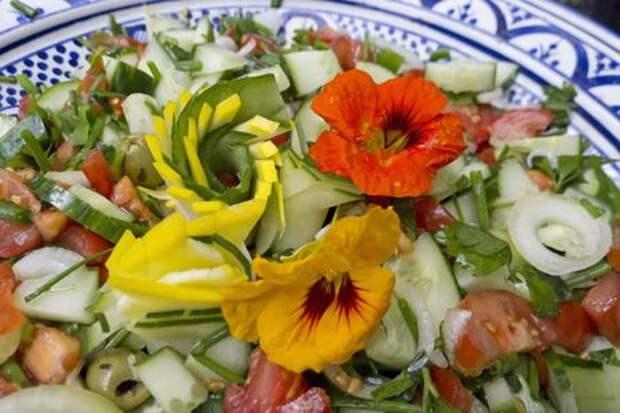 Цветочная кулинария