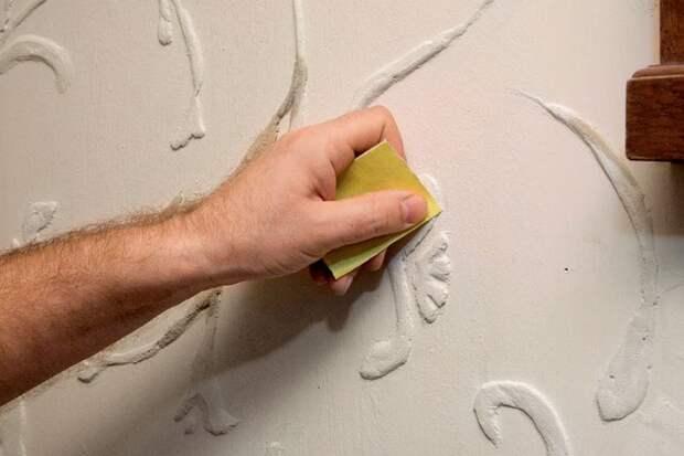 Объемные узоры на стене. Пошаговый мастер-класс внутренней отделки