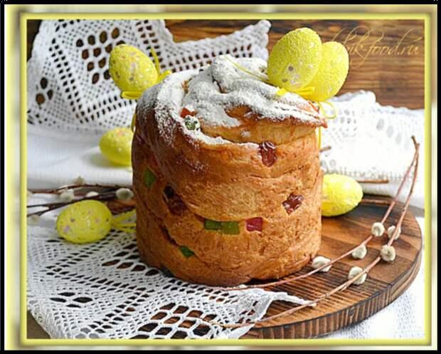 ПАСХАЛЬНЫЙ кулич «КРАФФИН» — рецепт популярной и ВКУСНОЙ выпечки к пасхе