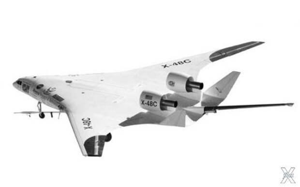Самолет «X-48C» - самолет будущего