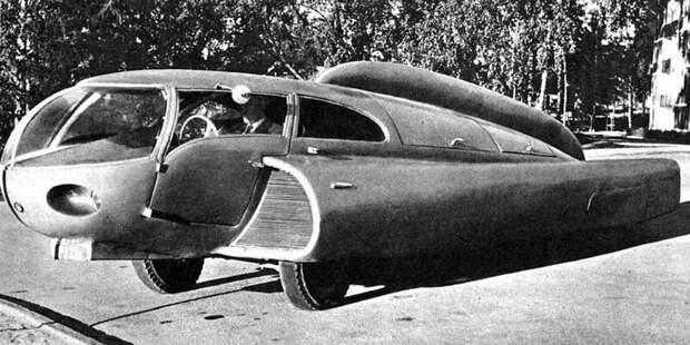 Уникальная машина Берггрена, напоминавшая одновременно бескрылый самолет и водяное чудище авто, автомобили, атодизайн, дизайн, интересный автомобили, олдтаймер, ретро авто, фургон