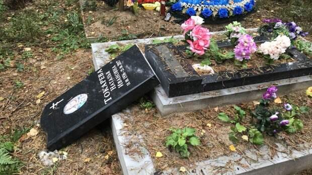 Молодой вандал осквернил более 40 надгробий на кладбище в Самаре
