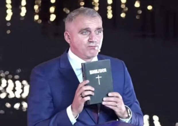 Мэр Николаева публично поклялся на Библии о не причастности к коррупции
