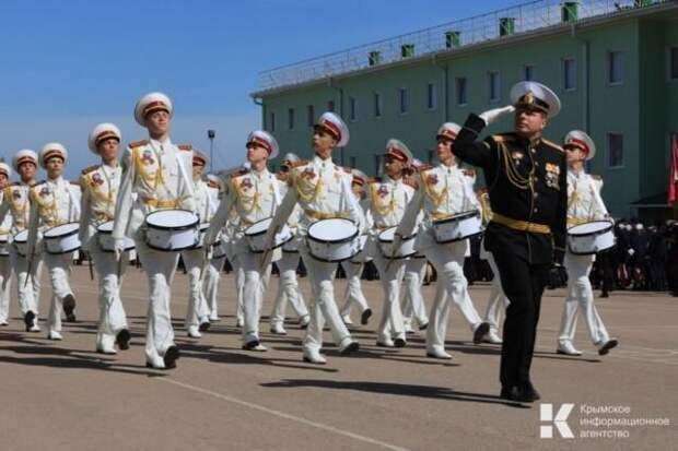 Парад кадетских и казачьих классов прошел под Симферополем