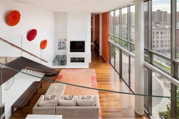 Применение персикового цвета в деталях интерьера