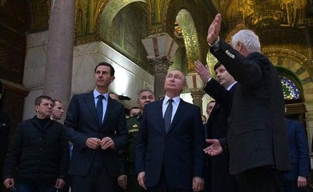 Путин раскрыл причину посещения Большой мечети Дамаска