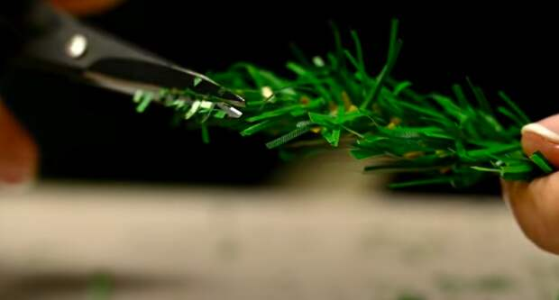 Переделка елки из Фикс-Прайс! Как сделать заснеженную пушистую елочку
