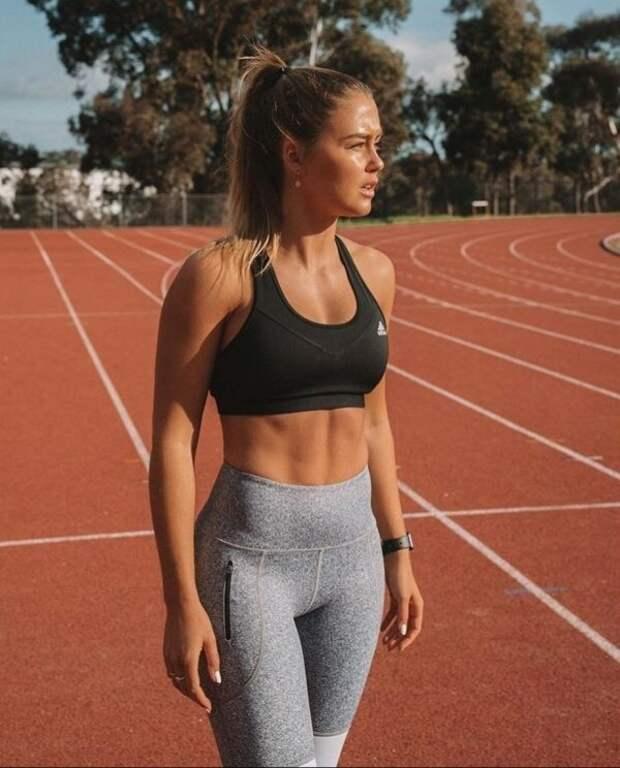 Девушки в спортивных бюстгальтерах хороший мотиватор для спорта (40 фото) Треники&Вареники, бюстгальтер, девушки, мотивация, спорт