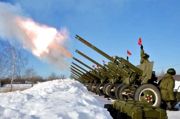 Штаты загубили свою артиллерию