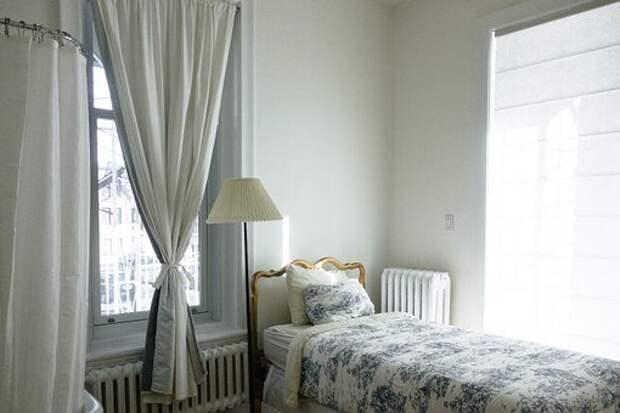 Спальня, Кровать, Комната, Главная