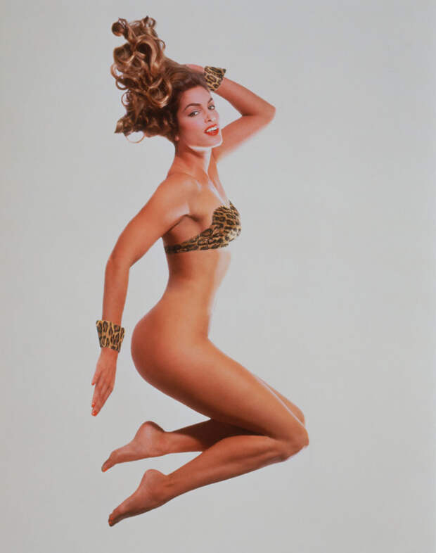 Синди Кроуфорд в фотосессии 1995 года.