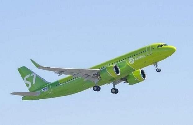 S7 Airlines намерен наращивать флот Airbus A-320neo/321neo