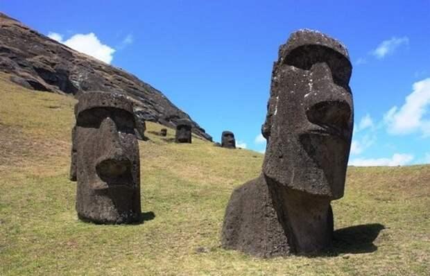 Красивейшее место: остров Пасхи.