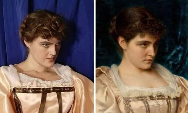 "6. Тито Конти ""Скромная красавица"" (XIX век)"