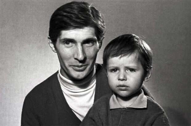 Игорь Ясулович с сыном