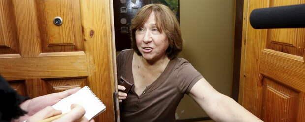 Русофобствующую нобелевку Алексиевич могут посадить на 5 лет